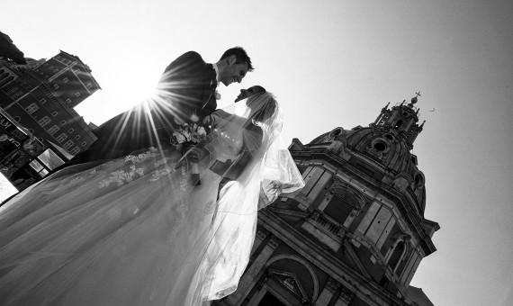 Valentina e Christian<br>Santa Maria di Loreto<br>Francesco Forti Ricevimenti.