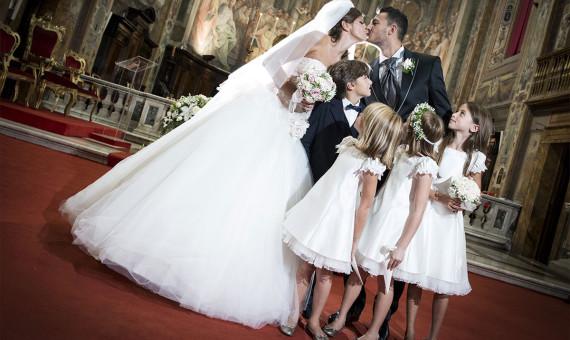 Consuelo e Fabio<br>Santo Spirito in Sassia<br>Villa Miani